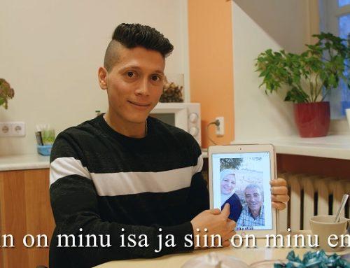 """Eesti keele õppevideo """"Pere tutvustus"""""""