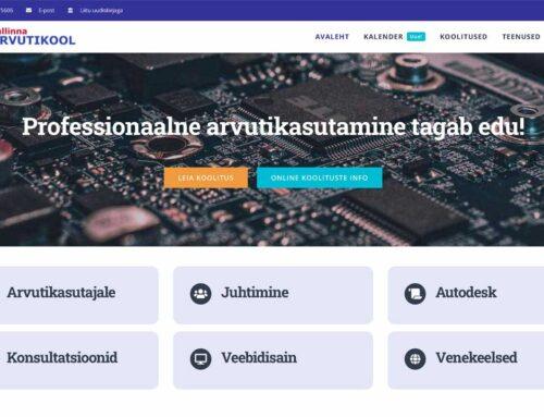 Tallinna Arvutikooli veebileht
